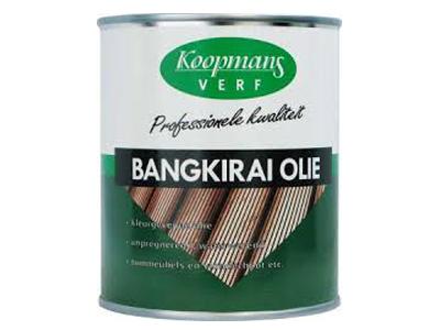 Perkoleum bangkirai olie 750 ml.