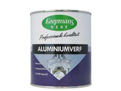 Koopmans aluminiumverf 250 ml. ZG