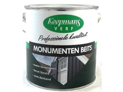 Monumentenbeits  2,5 ltr zwart