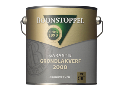 BS Garantie grondlakverf 2000 2,5 ltr wit