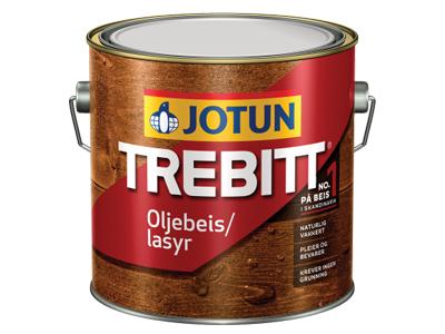 Jotun Trebitt Oljebeis  3 Ltr wit/kl.