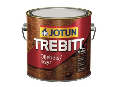 Jotun Trebbit Oljebeis 3 ltr wit/ kl.