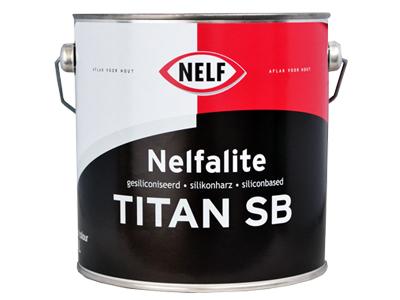 Nelfalite Titan SB 2,5 ltr wit/P