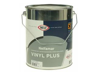 Nelfamar Vinyl Plus 5 ltr wit