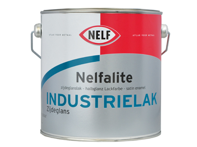 Nelfalite industrielak ZG 2,5 ltr wit/P