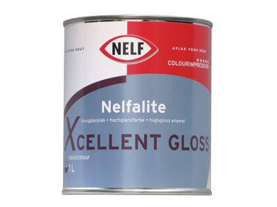 Nelfalite xcellent gloss 1 ltr kleur