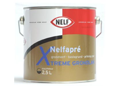 Nelfapre xtreme grondlak 2.5 ltr wit VLP