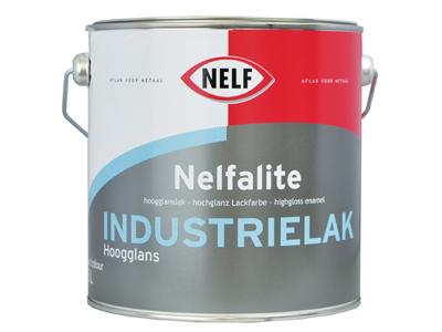 Nelfalite industrielak HG 2,5 ltr kleur
