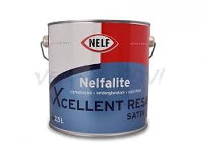 Nelfalite xcellent resist satin 2,5 ltr P/wit