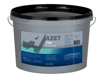 Azet-coat sanitair 10 ltr wit