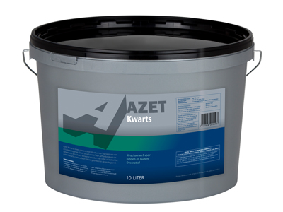 Azet-Kwarts 10 ltr wit