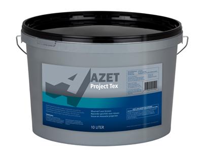 Azet-projecttex 10 ltr zwart
