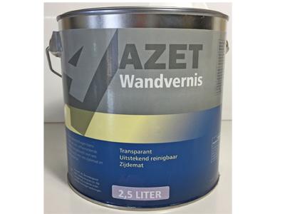 Azet-Wandvernis zijdemat 5 liter
