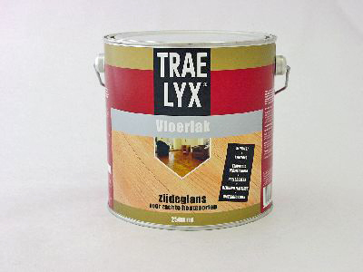 Trae-lyx vloerlak zg 2.5 ltr