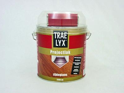 Trae-lyx projectlak 2,5 ltr ZG