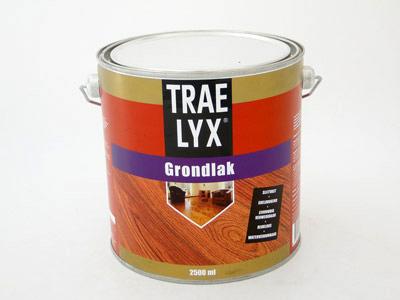 Trae-lyx grondlak 2.5 ltr