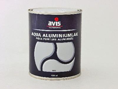 Avis aqua aluminium 1 ltr Ral 9006