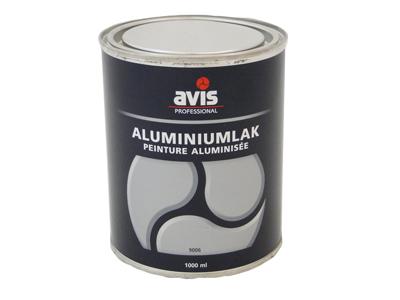 Avis aluminium 1 ltr Ral 9006/9007