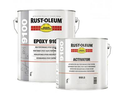 R-O 9100 Epoxy basis (A) Wit Hoog HG 2,34 L