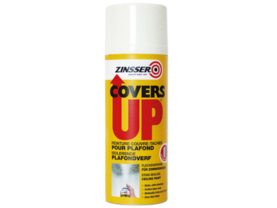 ZINSSER Covers Up Aerosol spray 400 ml wit VLP