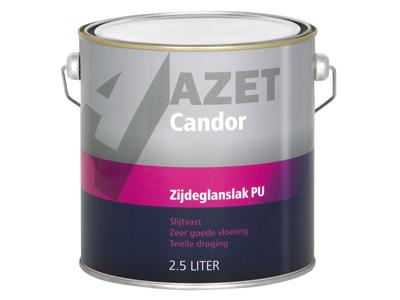 Candor Zijdeglans PU 2.5L. wit