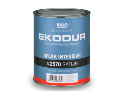 Ekodur int. satijn 2.5 ltr wit