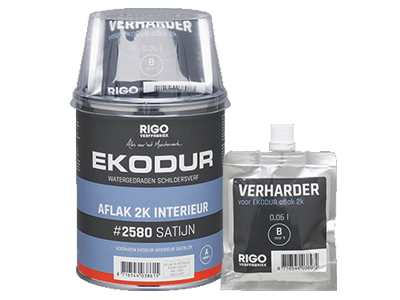 Ekodur 2K int. satijn 1 ltr wit