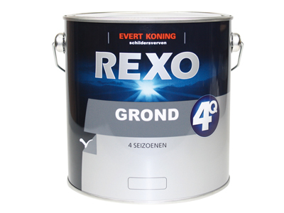 Rexo grond 4Q 2,5 ltr wit