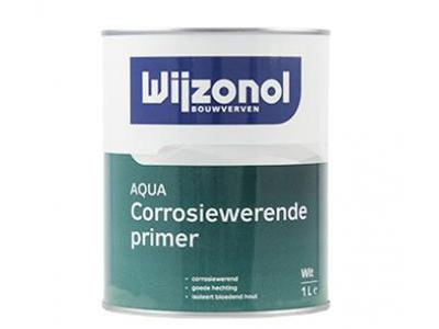 Wijzonol aqua corrosiewerende primer 1 ltr Wit