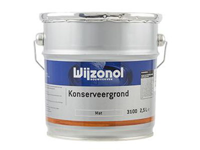 Wijzonol konserveergrond 2,5 ltr kleur