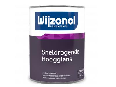 Wijzonol sneldrogende hoogglanslak 2,5 liter kleur