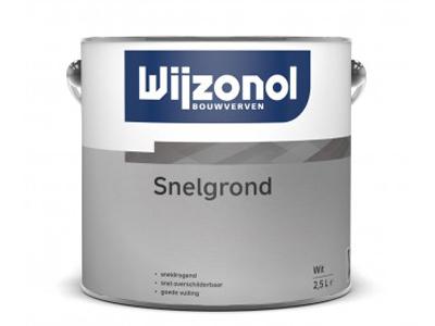 Wijzonol snelgrond 2,5 ltr Wit