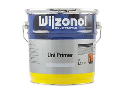 Wijzonol uni primer 2,5 ltr kleur