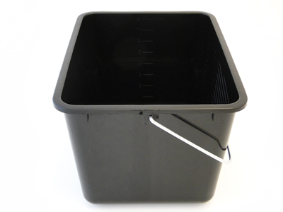 Verfemmer 12 liter grijs met schenktuit