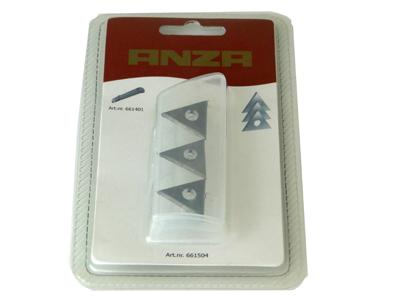 Vervangmes verfschraper ANZA 21239 mini 3-hk