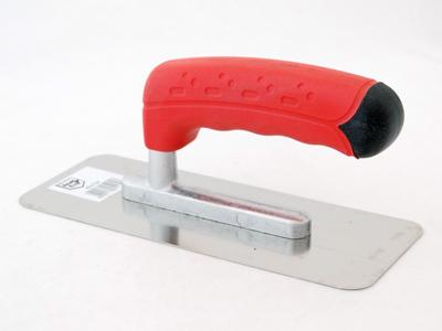 Spaan semi-prof 200x80mm rood handvat