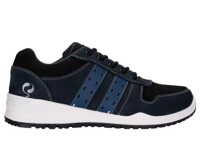 Sneaker schoen Quick sport blauw laag S3/SRC