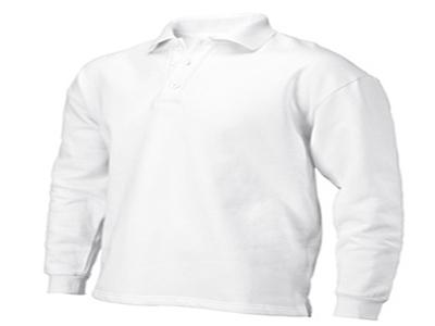 Polosweater z.b wit/kleur XS-7XL ROM'88