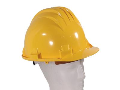 Veiligheidshelm Climax geel