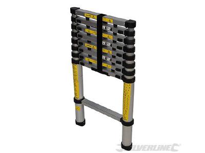 Telescoop ladder aluminium 9 treden VLP