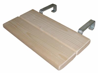 Bordes voor werktrap hout (emmersteun)
