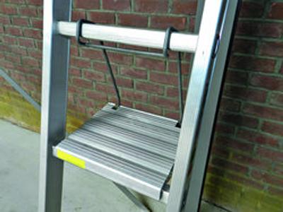 Aluminium ladderbankje LJ AKTIE