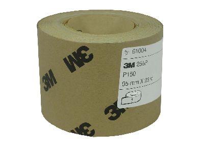 Schuurpapier 95mmx23m P120 3M
