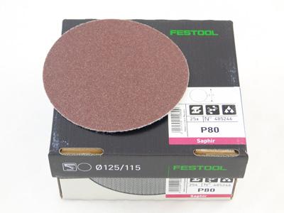 Schuursch. ST D115 P80 SA Festool per 25 st.