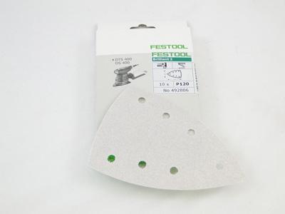 Schuurbladen delta BR P120 Festool per 100 st.