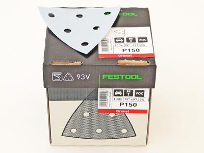 Schuurbladen delta V93 P120 Festool 100 st.