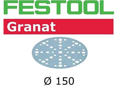 Schuurschijf D150/48 P120 GR Festool per 100 st.