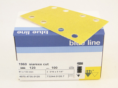 Siarexx 1960 recht 80x133+ST P120 per 100 st.