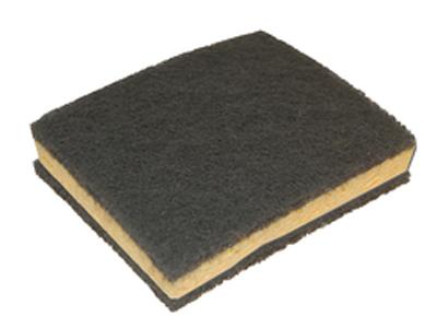 Siavlies spons dubbelz. ultra fine (grijs) 6 st.