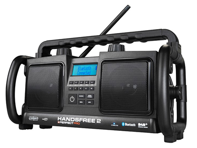 Bouwradio Handsfree 2